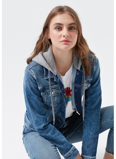 Mavi Kadın  Darcy 90's Jean Ceket 110196-32066 Mavi